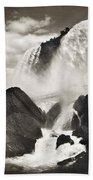Niagara Falls, C1888 Bath Towel