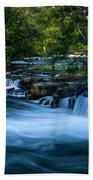 Niagara River Above The Falls_dsc8569_16 Bath Towel