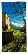 Niasca Hermitage I Portofino Park Passeggiate A Levante Bath Towel