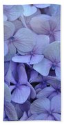 Nikko Blue Petals Bath Sheet
