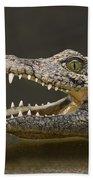 Nile Crocodile Bath Towel