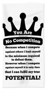 No Competition Hand Towel