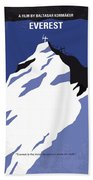No492 My Everest Minimal Movie Poster Hand Towel