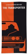 No552 My The Transporter Minimal Movie Poster Bath Towel