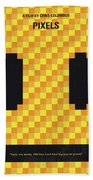 No703 My Pixels Minimal Movie Poster Hand Towel