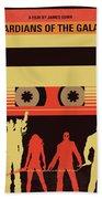 No812 My Guardians Of The Galaxy Minimal Movie Poster Bath Towel