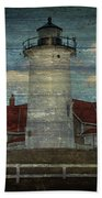 Nobska Lighthouse 2 Bath Towel