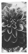 Noir Dahlia  Bath Towel