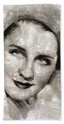 Norma Shearer, Actress Bath Towel