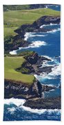 North Coast Of Maui Bath Towel