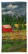 North Idaho Farm Hand Towel
