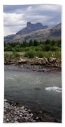 North Of Dubois Wy Hand Towel