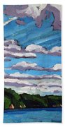 North Shore Stratocumulus Streets Hand Towel