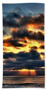 North Shore Sunset Bath Towel