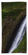 North Table Mountain Falls Bath Towel