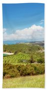 North Tower Viewpoint Rotoroa New Zealand Bath Towel