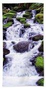 North Umpqua Wild And Scenic River Bath Towel