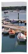Northeast Harbor Maine Bath Towel