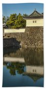 Northern Gate Of Edo Castle Bath Towel