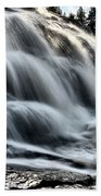Northern Michigan Up Waterfalls Bond Falls Bath Towel