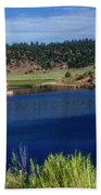 Northern New Mexico Lake Bath Towel