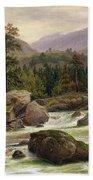 Norwegian Waterfall Hand Towel