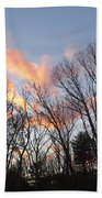 November At Twilight Bath Towel