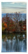 November Reflections Bath Towel
