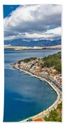 Novigrad Dalmatinski Fishermen Village Bay Bath Towel