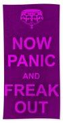 Now Panic 14 Bath Towel