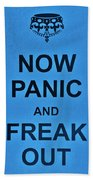 Now Panic 21 Bath Towel