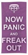 Now Panic 7 Bath Towel