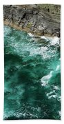 Nowhere To Go Cliffs Of Moher Ireland Bath Towel
