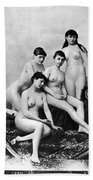 Nude Group, 1889 Bath Towel