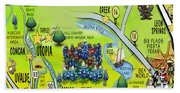 Nueces Watershed Area Hand Towel