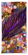 Nujabes' Feather Bath Towel