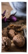 Nuts And Spices Series - Six Of Six Bath Towel