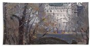 Nyc Central Park Hand Towel