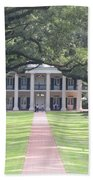 Oak Alley Plantation Bath Towel