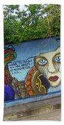 Oaxaca Graffiti Bath Towel