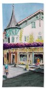 Oberammergau Street Bath Towel