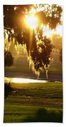 Ocala Sunset Bath Towel