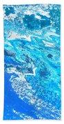 Ocean Blue -tac Hand Towel