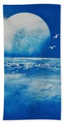 Ocean Blue Bath Towel