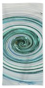 Ocean Blue Whip Bath Towel