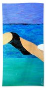 Ocean Dive Bath Towel