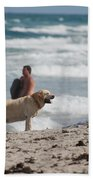 Ocean Dog Bath Towel