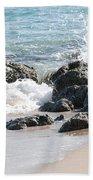 Ocean Drive Rocks Hand Towel