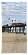 Ocean Fishing Pier Bath Towel