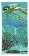 Ocean Opabinia Bath Towel